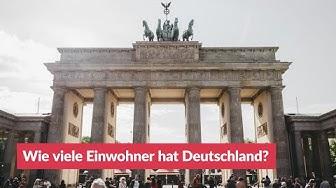 Wie viele Einwohner hat Deutschland?