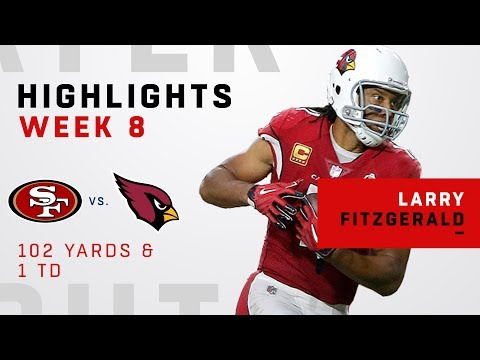 Larry Fitzgerald Highlights vs. 49ers
