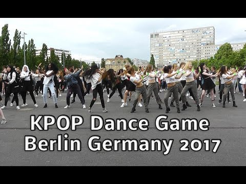 KPOP Random Dance Game Berlin Germany 2017