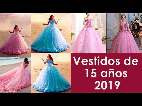 Vestidos De 15 Años 2019 Youtube