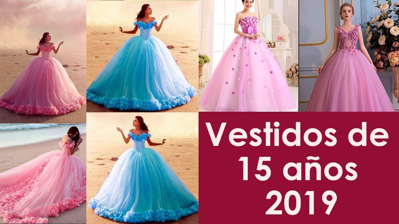 Vestidos De 15 Años 2019