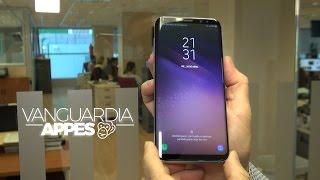 El refinado diseño del Galaxy S8+