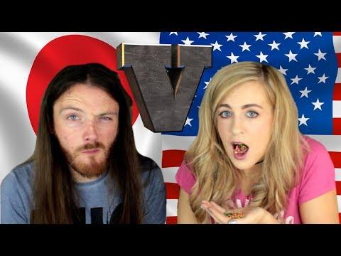 Irish People Try AMERICAN Vs JAPANESE Snacks