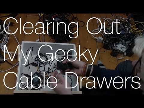 Tidying up my Geek Cable Drawers | IMNC