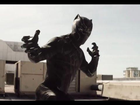 Captain America Civil War - Black Panther Chasing Bucky (Tamil)