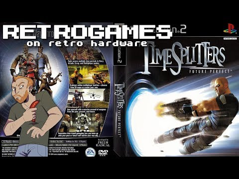Let's Play TimeSplitters: Future Perfect On Original Hardware - Live PS2 Gameplay!