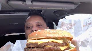 Burger King's Big King XL   Eating Show