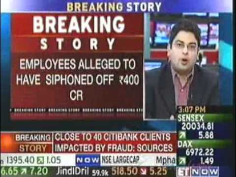 Citibank employees alleged to have siphoned off Rs 400 cr