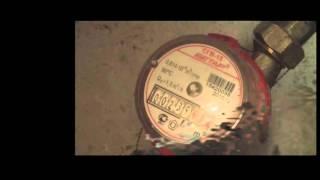 видео Передать показания счетчика горячей воды Омск
