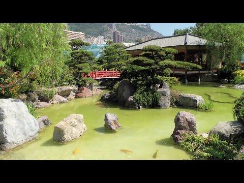 Monaco, Japanese Garden (Jardin Japonais) [HD] (videoturysta.eu)
