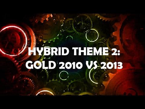 Doctor Who Theme HYBRID 2: Gold 2010 VS Gold 2013