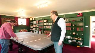 Snooker Table - The art of assembling a snooker table