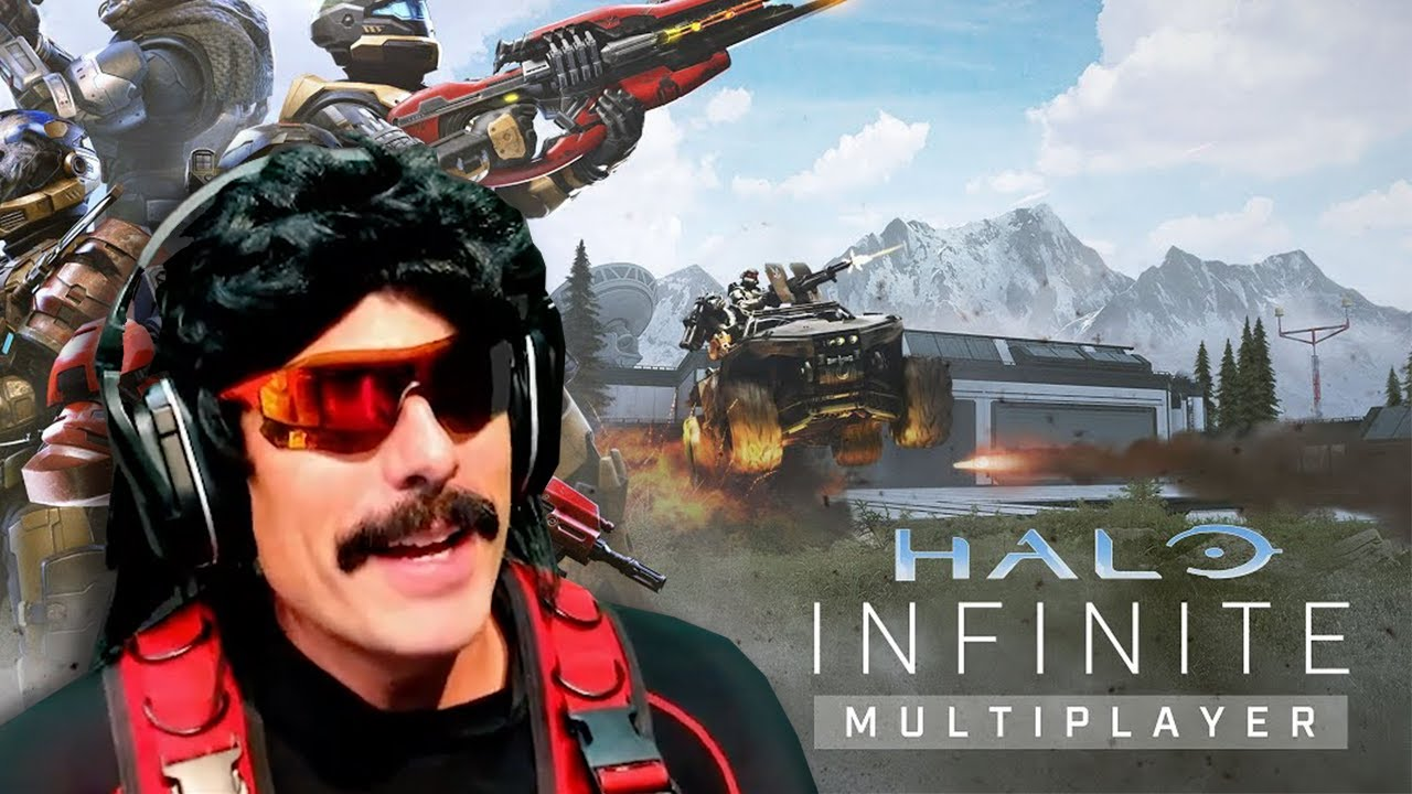 DrDisrespect Reacts to Halo Infinite   Multiplayer Overview