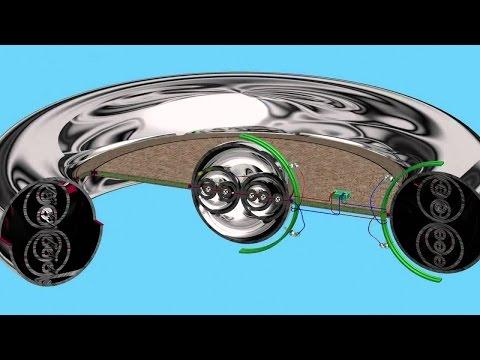El principio de funcionamiento del motor de UFO