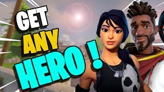 HOW TO GET *ANY* HERO YOU WANT!!! | NEW Collection Book | Fortnite Save the World PVE