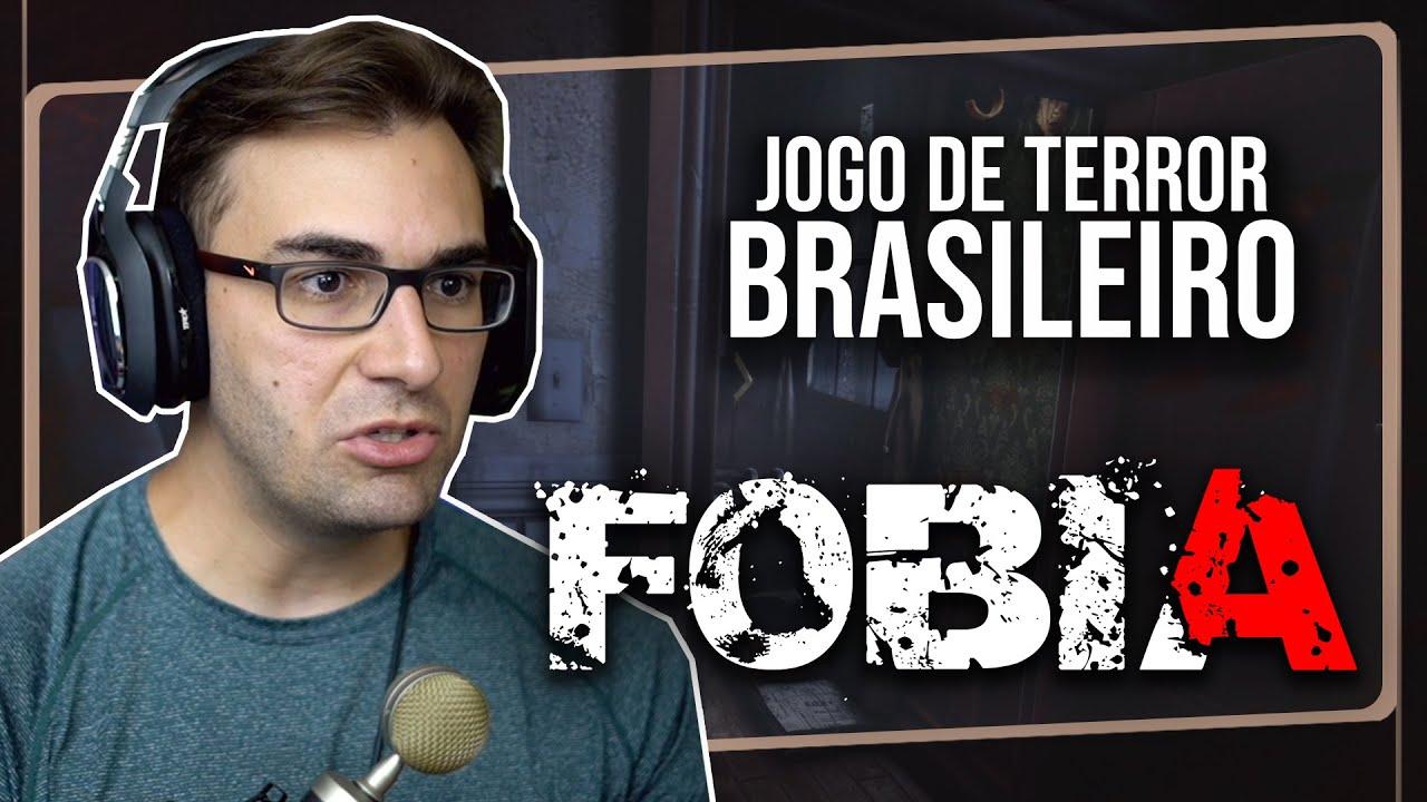 FOBIA - Jogo BRASILEIRO de TERROR! | St. Dinfna Hotel Demo Gameplay em Português PT-BR