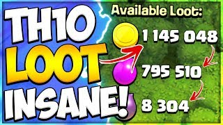 Proof TH10 Has The Best Loot! How to Farm as a New TH10 in Clash of Clans