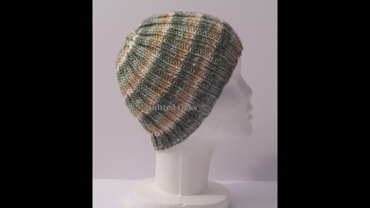 How to Decrease a Ribbed Hat [Re-Uploaded]