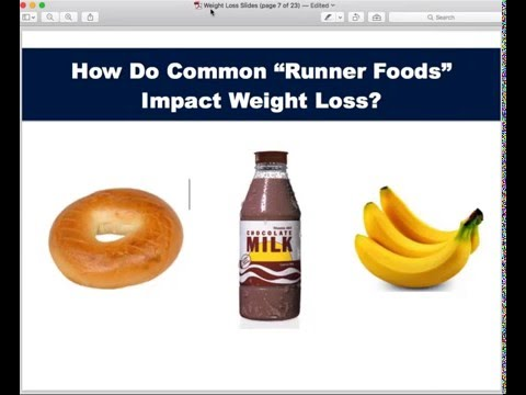 Running Nutrition Tips for Weight Loss, Fitness & Health