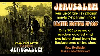 Jerusalem - Kamakazi Moth - UK heavy rock 1972