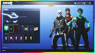 SHOWING OFF MY FORTNITE ACCOUNT | 179+ SKINS, 60+ GLIDERS, 144k+VBUCKS, STATS (1000+ WINS)