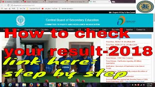 CBSE Class 10, Class 12 results tomorrow 2018:Go to the CBSE official website cbse.nic.in