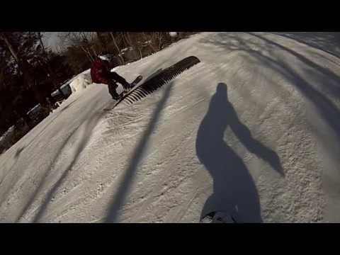 Wachusett Mountain Snowboarding and Skiing- WACHUSETT PARK!- GoPro Hero 3 - Week 4 of 8