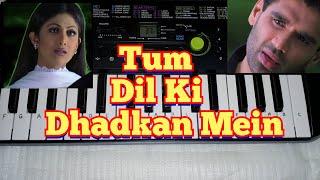Tum Dil Ki Dhadkan Mein Song on Piano (Casio Sa 47) By Madan Mali