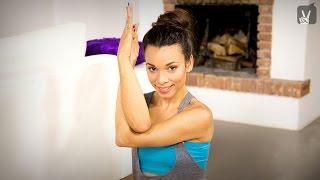 Yoga Schulter Nacken: Das schnelle Workout mit Amiena Zylla!