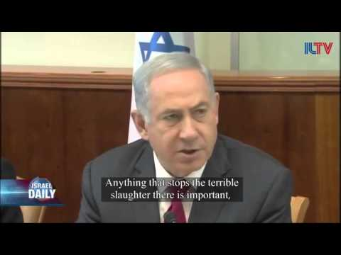 Netanyahu Would Welcome a Syrian Cease Fire