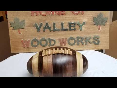 How To Make A Wood Football Superbowl Quality Fantasy Football Trophy Part 1