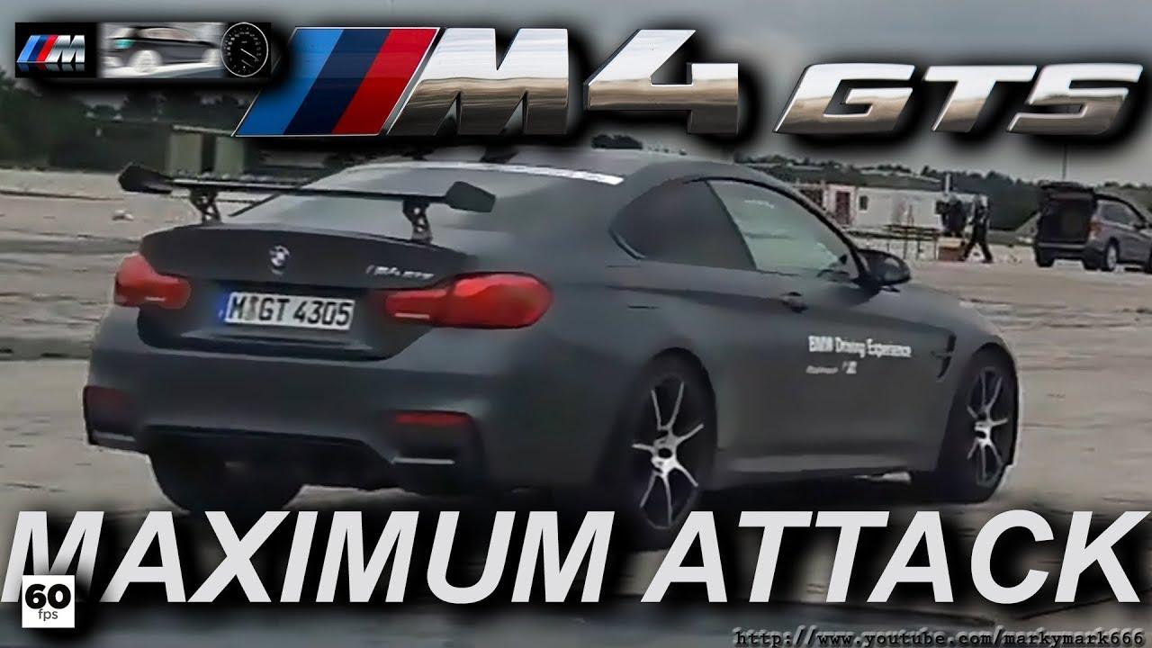 Bmw M4 Gts Racetrack Pov Extreme Acceleration Loud Sounds