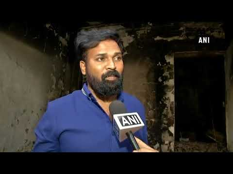 Narrow escape for Lok Sabha MP Sreeramulu, family after fire at residence