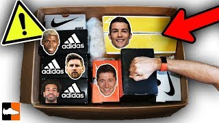 What's In The Mystery Box?! Feat. Ronaldo, Messi, Salah, Pogba...