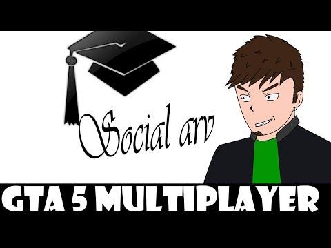 (Dansk/Danish) Det er den sociale arv´s skyld! (Grand theft auto 5 - Multiplayer)