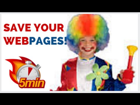 Save And Publish Your Web Pages On Your website!