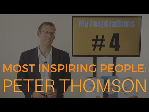 Most Inspiring People - #4 Peter Thomson