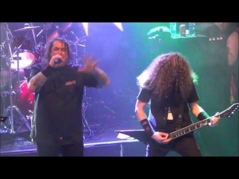 Exodus - A Lesson In Violence & Blacklist Live @ Sticky Fingers, Gothenburg 2016