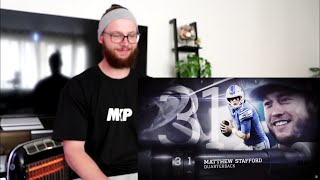 Rugby Player Reacts to NFL Top 100 Players of 2018 (#31, #30, #29, #28)