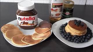 EINFACHES, SCHNELLES und LECKERES Pancake-Rezept