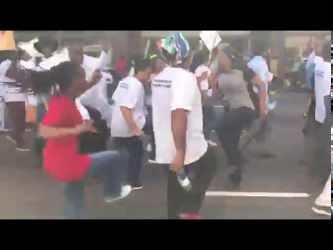 Durban - Health Workers Protest March -  5/5/2017