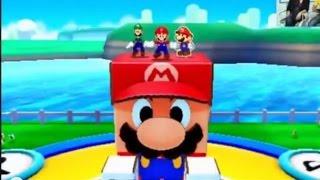 Mario & Luigi PAPER JAM : Mario Papercraft / Gameplay Treehouse