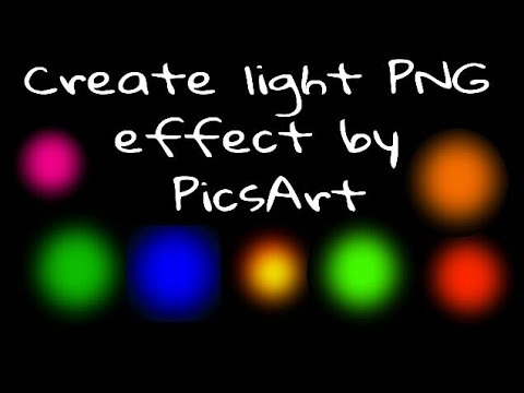 how to draw light effects
