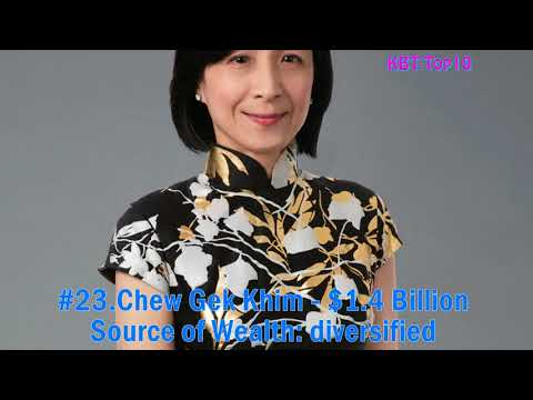 Top 50 Richest People in Singapore / Singapore's 50 Richest