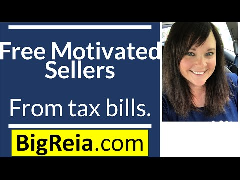 How to get free motivated seller leads from rising property tax bills, 1 deal made me over 23 grand.