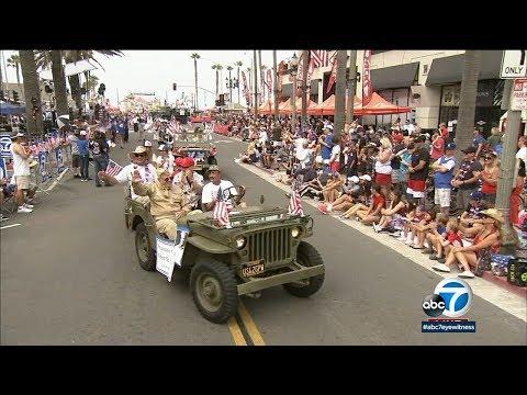 4th Of July Parade In Huntington Beach | ABC7