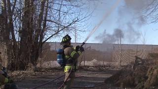 Idaho Falls Fire Departments burns down house in Idaho Falls for training