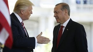 Trump and Erdoğan to fight terror together, despite disagreement over the enemy