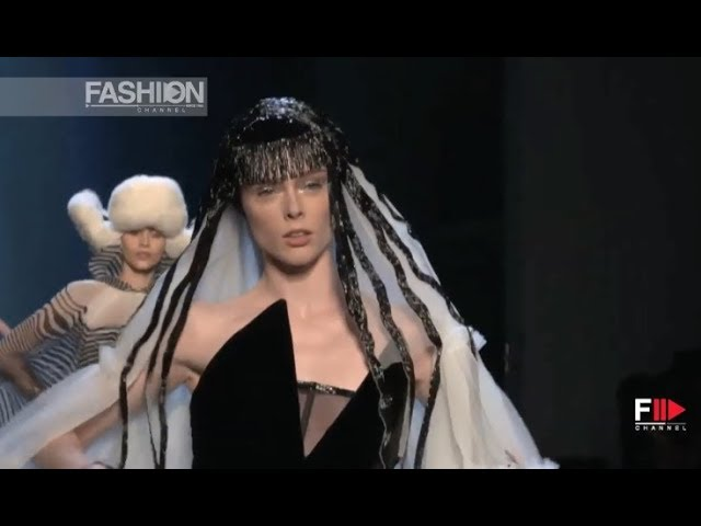 JEAN PAUL GAULTIER Highlights Fall 2019 Haute Couture Paris - Fashion Channel