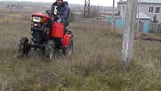 мини-трактор из мотоблока Кентавр 1013.  12л.с.